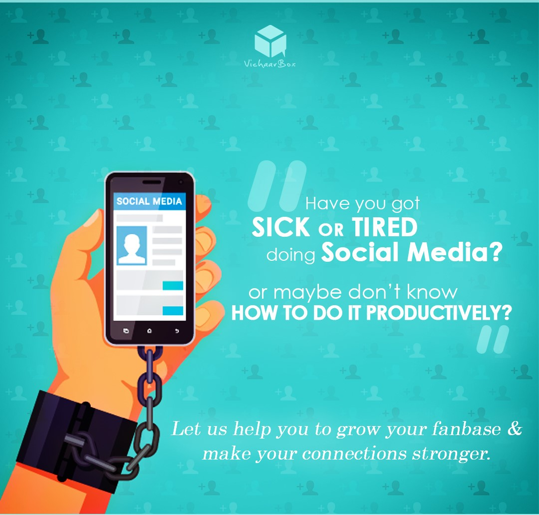 VichaarBox - Sick and Tired of Social Media - Contact Us