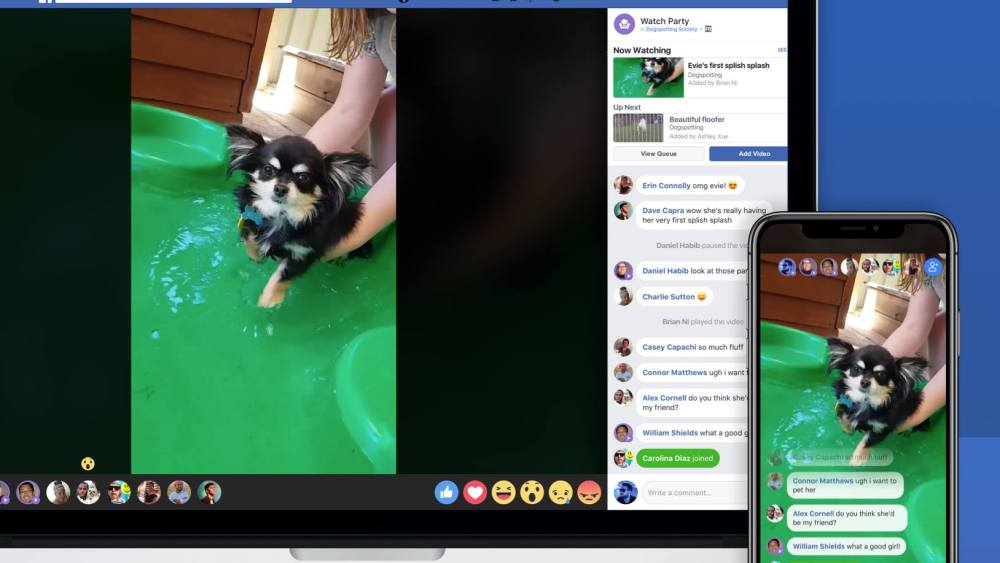 Facebook is testing Watch Parties for collective video viewing